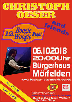 Bild: 12. Boogie-Woogie-Night