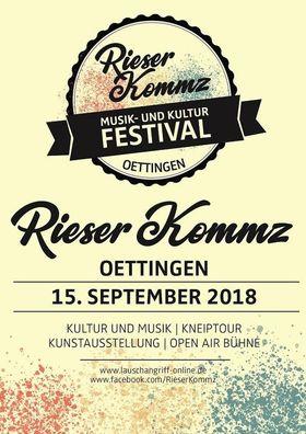 Bild: Rieser Kommz - Musik- und Kultur Festival Oettingen