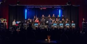 Bild: Der weiße Hai. Der neue Bruns - der 9. Fall für Kurt Bruns mit der Big Band ´Stormy Weather´ - Funk, Soul & Jazz