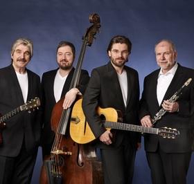 Bild: Gypsy Swing meets the Klezmer: Joscho Stephan & Helmut Eisel Quartett - Grünstadter Sternstunden 2019 - 4. Konzert