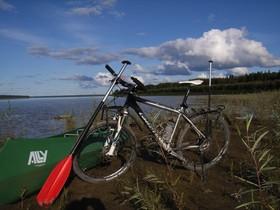 Bild: Walter Költsch: Mit Kanu und Fahrrad durch Alaska