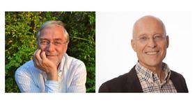 Bild: Prof. Gerald Hüther & Dr. Rüdiger Dahlke - Altern als Geschenk - 21. Brühler Gesundheitsforum