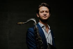 Bild: Verleihung Jazzpreis des Landes Baden Württemberg 2018 - Alexander Bühl (1. Preis) und Tobias Becker (2. Preis)