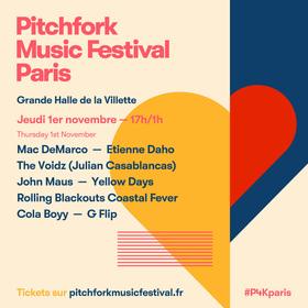 Bild: Pitchfork Music Festival Paris