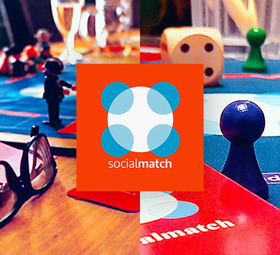 Bild: Socialmatch Frankfurt Alter 25-40 (Frauen) | 25-45 (Männer)