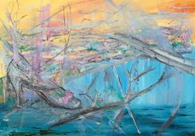 Bild: My Roots -  My Colors - Ausstellung mit Werken von Rhodrick Tayali