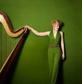 Bild: Magdalena Hoffmann - Harfe