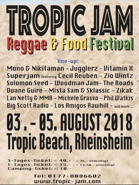 Bild: Tropic Jam - Reggae & Food Festival