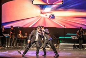 Bild: A Tribute to the Blues Brothers - mit Jörg Bruckschen, Rinals Tettinek, Stefan Roschy