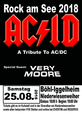 Bild: Rock am See 2018 - AC/ID (AC/DC Tribute) + Very Moore (Gary Moore Tribute)