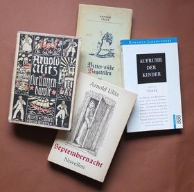 """Bild: Literatur: Der Schriftsteller Arnold Ulitz: Von Breslau nach Tettnang - Expressionistische Größe – """"verbrannter Dichter"""" – Heimatvertriebener"""