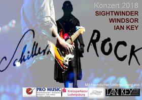 Bild: Schillers Rock - Konzert - Mit Ian Key - Sightwinder - Windsor und der Gewinnerband des Songcontests