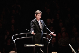 Bild: Russische Nationalphilharmonie - Solist: Sergey Dogadin, Violine; Leitung: Mihhail Gerts