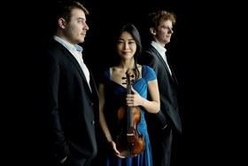 Bild: Orion Streichtrio - Soyoung Yoon, Violine; Veit Hertenstein, Viola; Benjamin Gregor-Smith, Violoncello