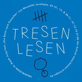 Bild: Tresenlesen mit Ralph Jung - Theater Erlangen