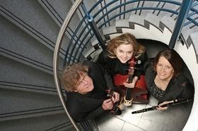 """Bild: Trio """"Divertissement"""" - Kammermusik im Schloss"""