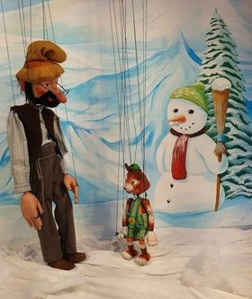 Bild: Pettersson kriegt Weihnachtsbesuch - Marionettentheater Stromboli
