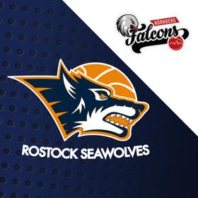 Rostock Seawolves - Nürnberg Falcons BC