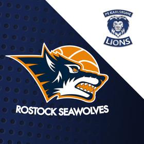Bild: Rostock Seawolves - PS Karlsruhe LIONS