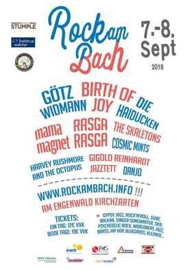 Bild: Rock am Bach 2018 Kombiticket