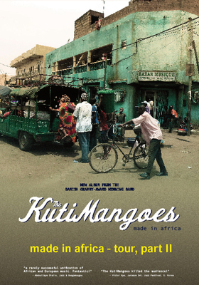 The KutiMangoes - afro fire & made in africa