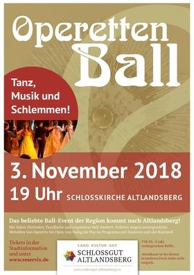 Bild: Operettenball in der Schlosskirche