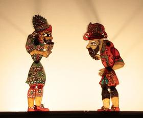 Bild: Hacivat und Karagöz - Schattentheater