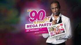 Bild: 90er & 2000er Mega Party - mit Mr. President LIVE am 29.09.18