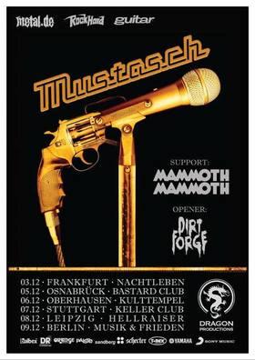 Bild: Mustasch- Silent Killer Tour 2018 feat Mammoth Mammoth