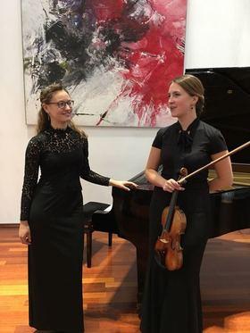 Bild: Klassisches Konzert mit dem Duo