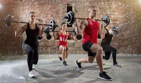 Bild: Langhantel-Workout