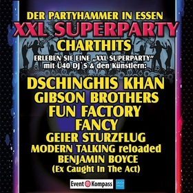 CHART SHOW  die XXL SUPERPARTY in Essen