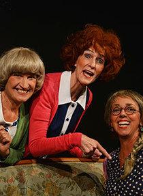 Bild: Die Drei vom Dohlengässle - Jetztgrüßgott - Einzug im Dohlengässle