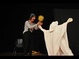 Bild: Clown Otsch und das Gespenst