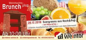 Bild: Brunch plus - Der Weihnachtsbrunch plus