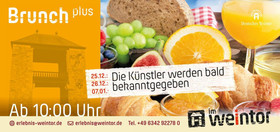 Bild: Brunch plus - Der Neujahrsbrunch plus
