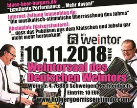 Bild: Leonard Cohen Tribute-Show by Holger Goerrissen! - Leonard Cohen Tribute-Show im Weintorsaal