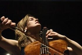 Bild: Cello-Klavier-Duo - Harriet Krijgh, Violoncello und Magda Amara, Klavier
