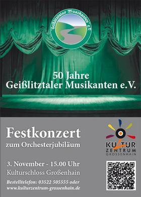 Bild: Jubiläumskonzert - 50 Jahre Geißlitztaler Musikanten e.V.