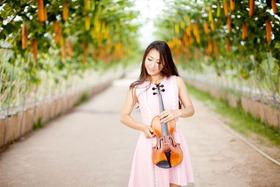 Bild: Musik und der Duft der Blumen - Konzertabend mit Irina Pak (Violine)