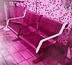 Bild: Die Liebenden in der Untergrundbahn