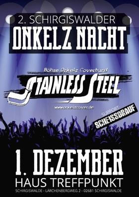 Bild: 2. Schirgiswalder Onkelz-Nacht mit Stainless Steel - Supportband - Scheißdrauf