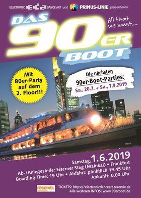 DAS 90erBOOT - Das 90erBoot IV im Juni 2019