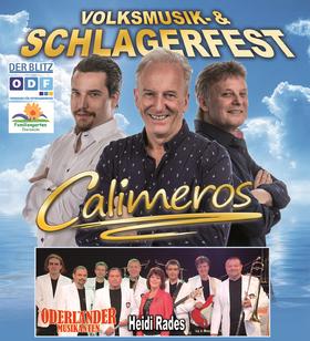 Bild: Calimeros - das Schlager- und Volksmusikfest - Oderländer Musikanten & Heidi Rades