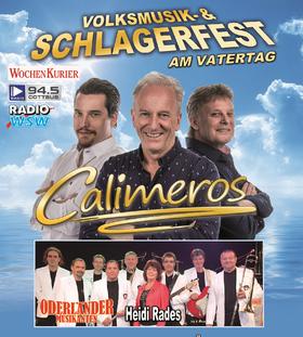 Bild: Calimeros - das Schlager- und Volksmusikfest - mit Oderländer Musikanten & Heidi Rades