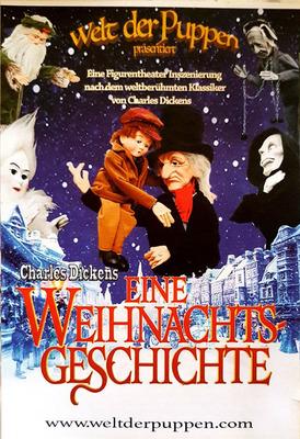Bild: Eine Weihnachtsgeschichte - Charles Dickens- Welt der Puppen