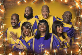 Bild: The Glory Gospel Singers - USA - Merry Christmas... and a Happy New Year