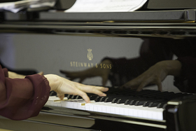 Bild: Preisträgerkonzert - 8. Ensemblewettbewerb - HfM Dresden