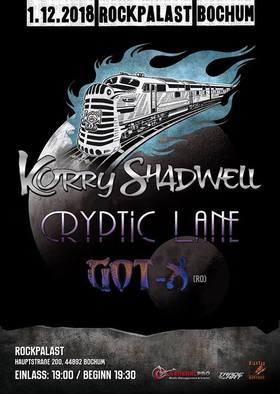 Korry Shadwell Cryptic Lane Got-X