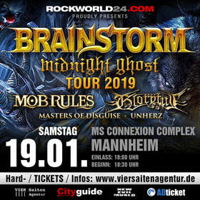 Bild: Brainstorm - Midnight Ghost TOUR 2019